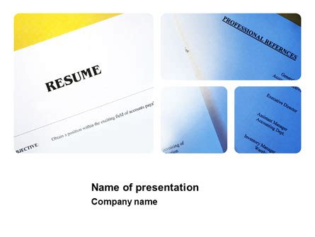 Resume formats google documents
